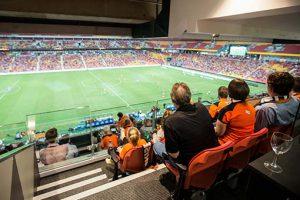 Brisbane Roar Corporate Box