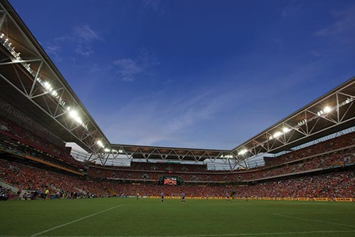 Brisbane Roar FC - Suncorp Stadium